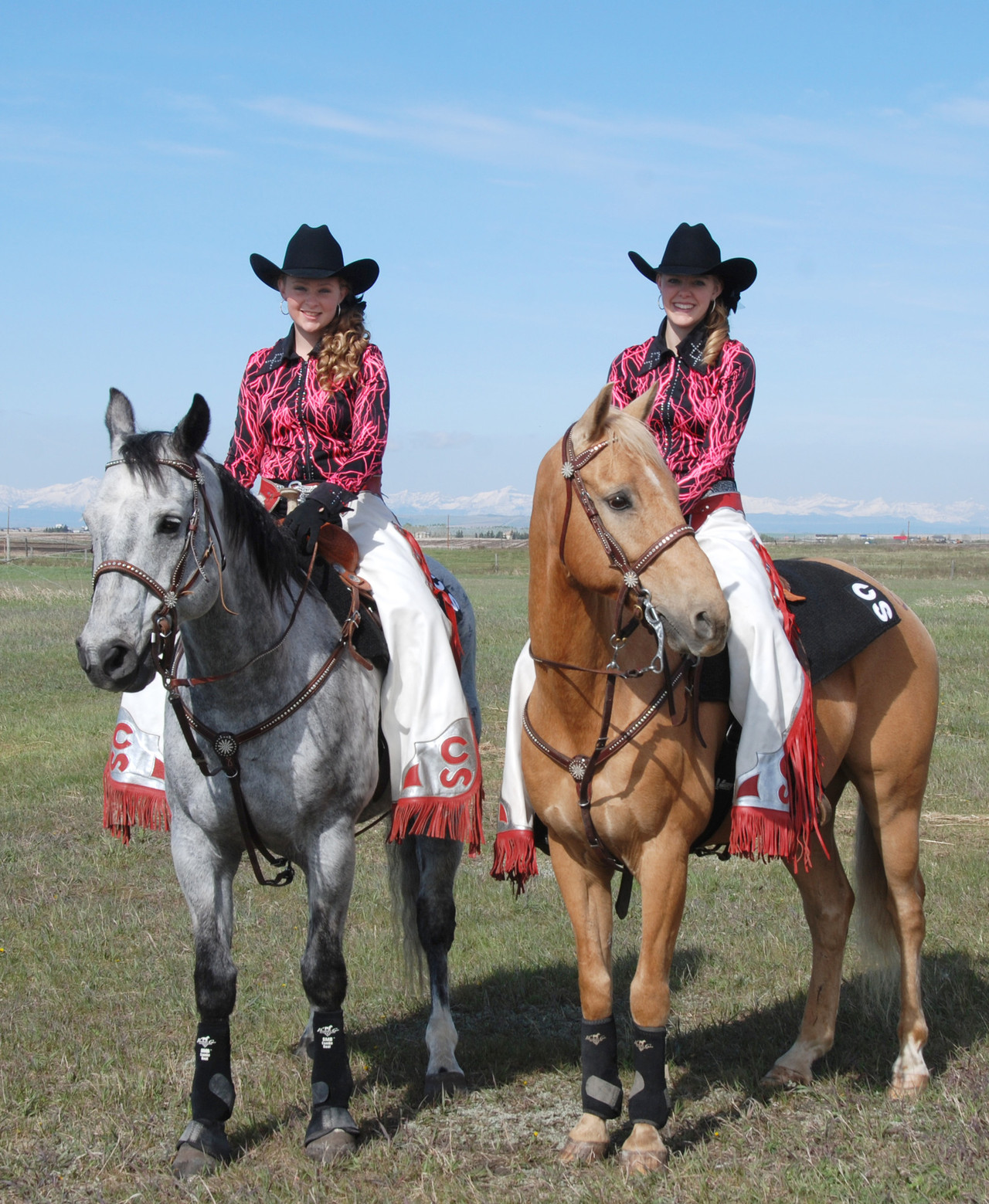 Two Palliser students part of Stampede equestrian tradition