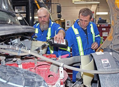 Mechanics play a key role in Palliser Regional Schools' perfect carrier profile for transportation services.
