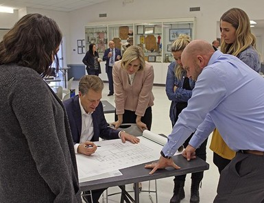 Architects worked with Palliser staff and community partners to come up with some design options for a new school.