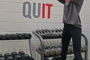 Coalhurst High School students are taking advantage of new fitness equipment