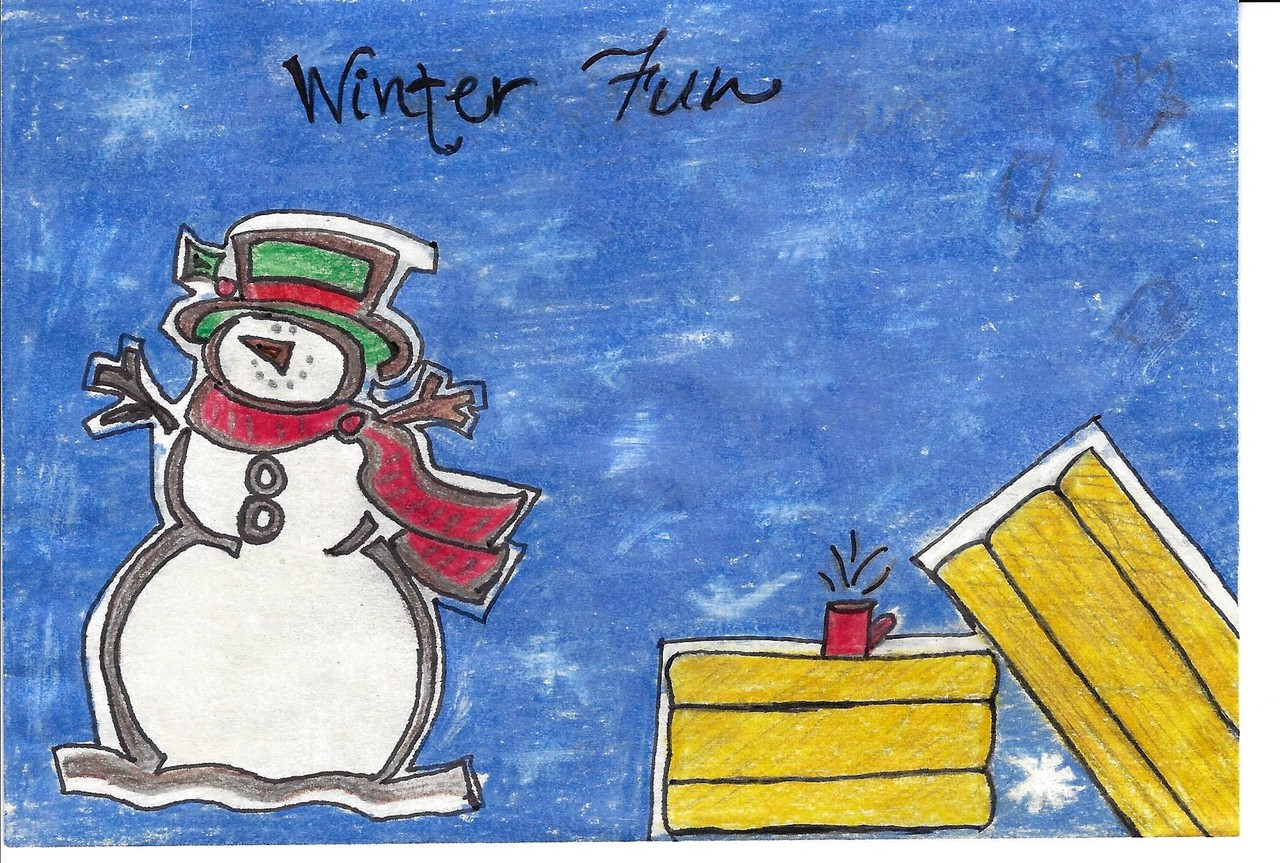 Student artists invited to submit art for palliser greeting card last years art contest winner was sara walter a student at gold ridge colony school m4hsunfo